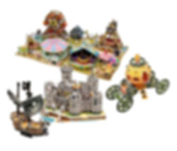 Fantasy World, 3D puzzles
