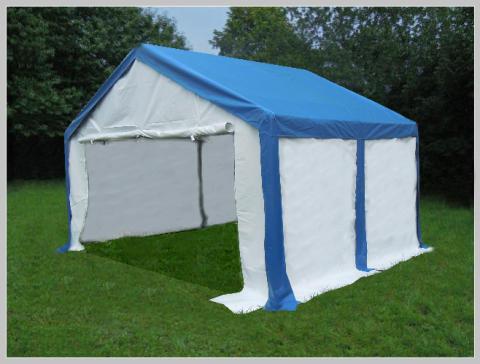 3x4 meters PVC Pro Modular Blue (without windows)
