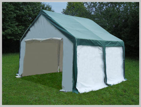 3x4 meters PVC Pro Modular Green (without windows)