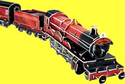 The Train for Magic School