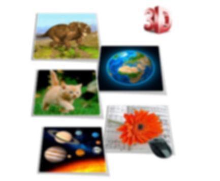 3D Showcards - Teachers' Resources