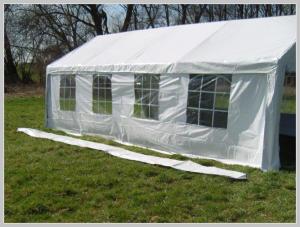 Pavilion rain gutter - 8 meters PE (Adjacent)