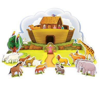 Noah's Arc - Flood and Rainbow