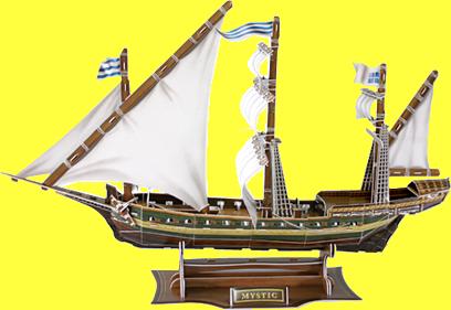 Mystic Sailing Boat