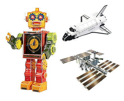 Space and Technology, 3D puzzles