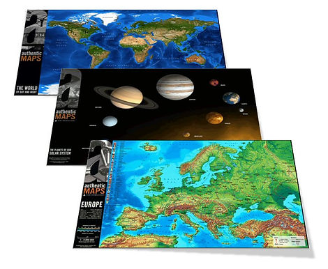 3D Wall Maps - Teachers' Resources