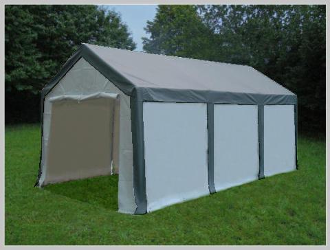 3x6 meters PVC Pro Modular Grey (without windows)