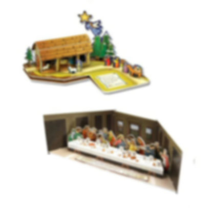 Bible Stories, 3D puzzles