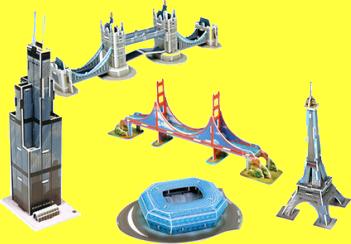 World Famous Mini Architecture Series 1