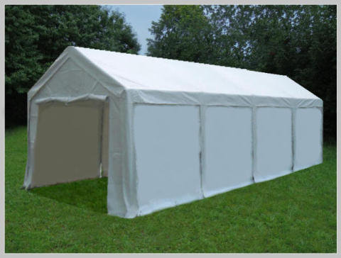3x8 meters PVC Pro Modular (without windows)