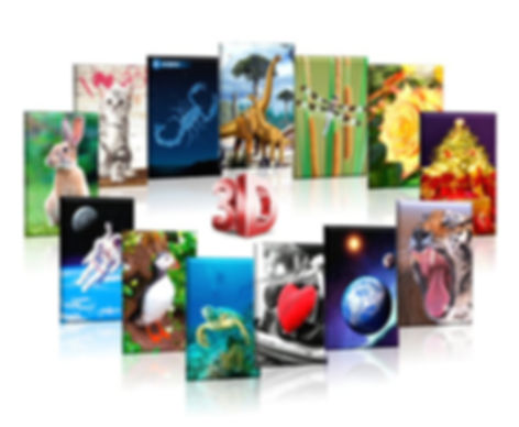 3D Show cards, Greeting Cards and Postcards, 3D Stationary