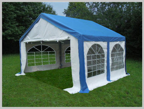 3x4 meters PVC Pro Modular (Blue)