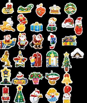Happy Tree - Christmas Decorations