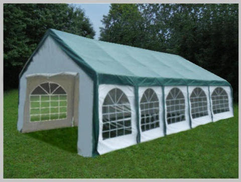 4x10 meters PVC Pro Modular (Green)