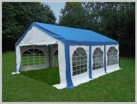 4x6 meters PVC Pro Modular (Blue)