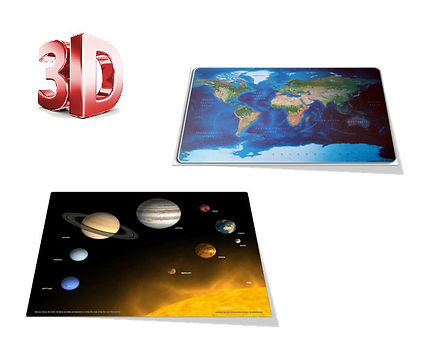 3D Deskmats, 3D Stationary