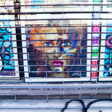 Display art - NYC