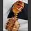 Thumbnail: Carnelian x Petrified Wood Pendant
