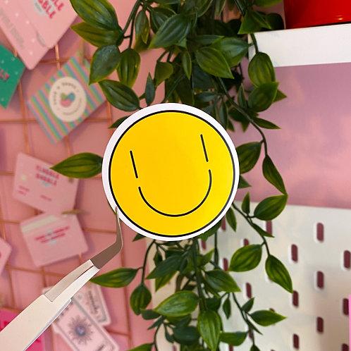 Smile - Laptop sticker