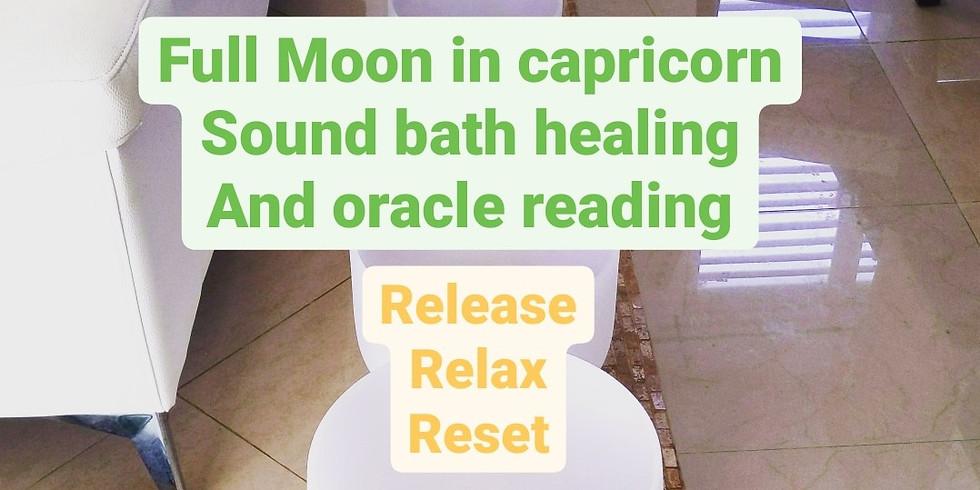 Full Moon in Capricorn Healing Event 6/25