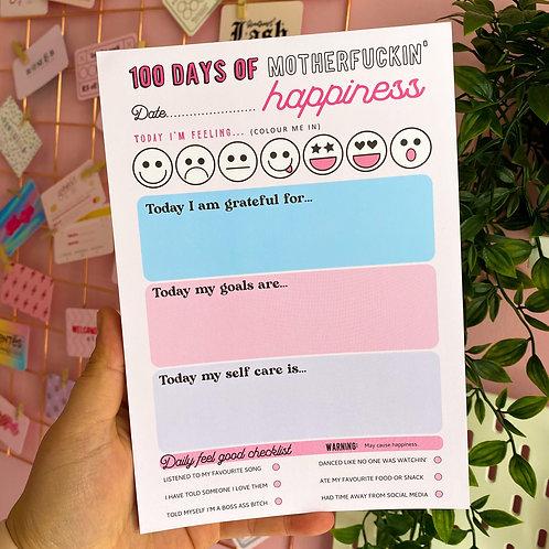100 DAYS PAD