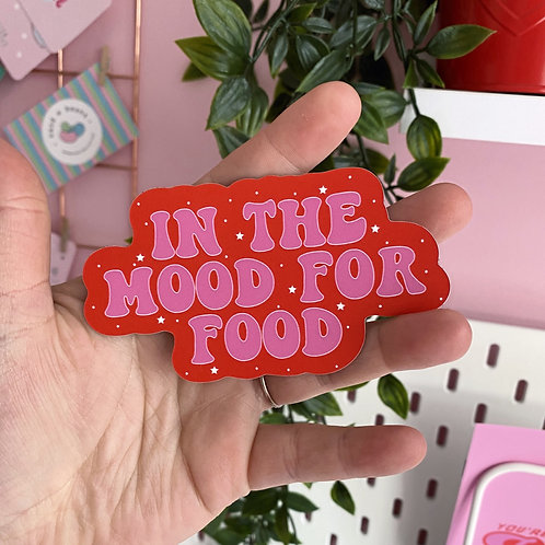 In the mood for food - Fridge magnet