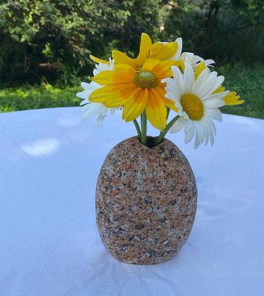 Red Granite Bouquet Vase