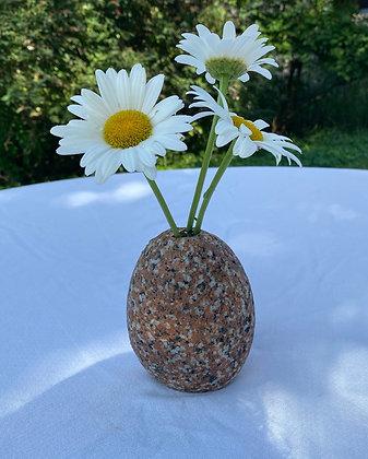 Red Granite Posy Vase