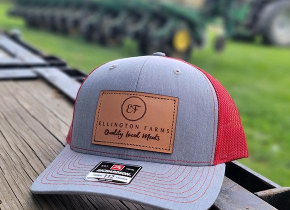 Ellington Farms Leather Patch Hat