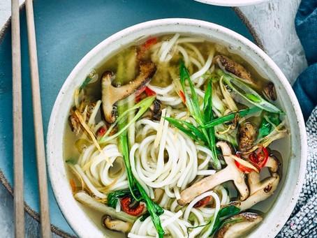 Recipe of the month - Vegan Ramen Soup