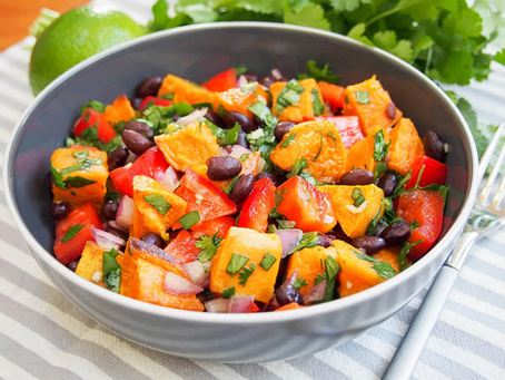 Sweet Potato Salad - Recipe of the month