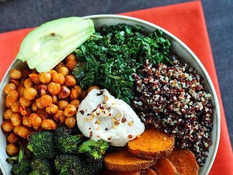 Vegetable Quinoa bowl