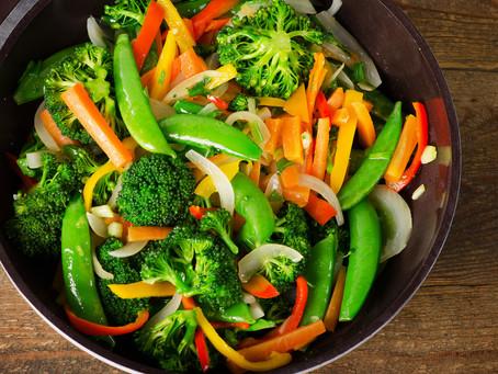 Deluxe veggie stir-fry
