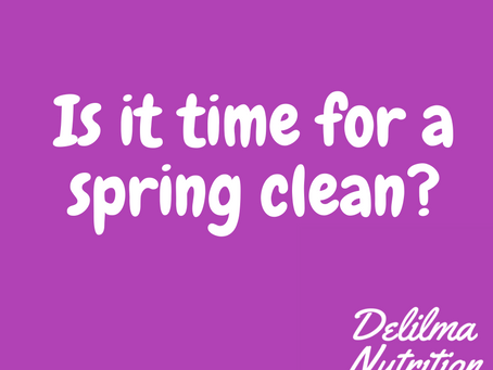 Is now the best time to do a body spring clean?