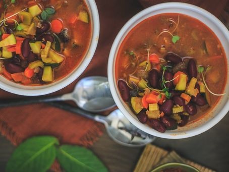 Recipe of the month -Vegetable and Bean soup