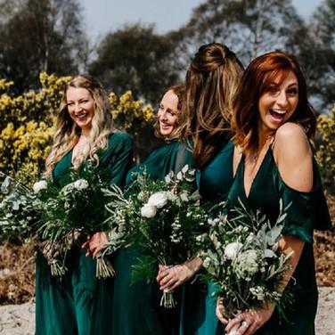 Bridesmaids Hair by Jennifer Mathieson