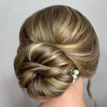 Bridesmaid Hair by Jennifer Mathieson