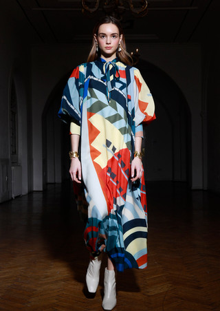 LFW for Johnstons of Elgin S/S 19 Collection