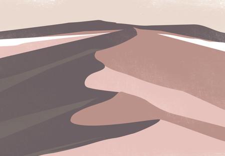 A vast desert