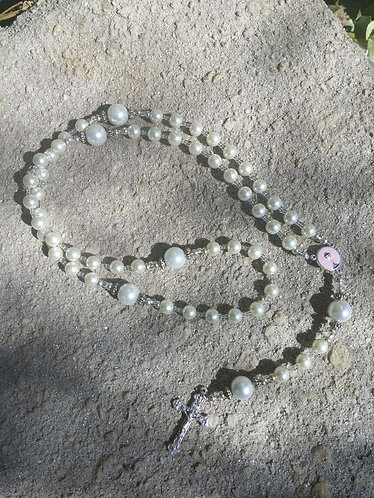 Girls Holy Communion Rosary