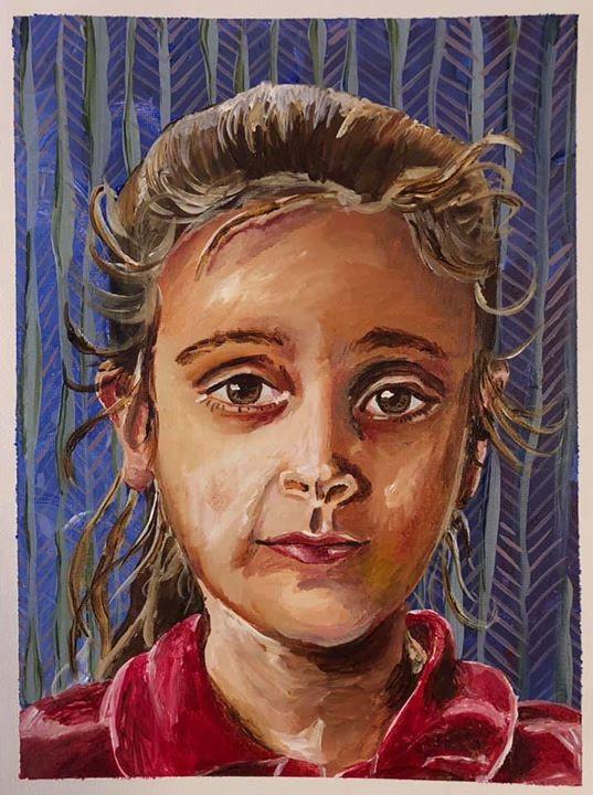 Syrian Refugee Child, 2019