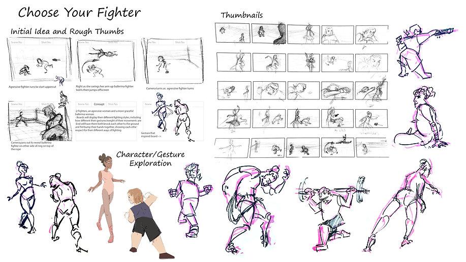 Choose Your Fighter VisDev