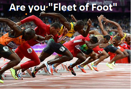 Fleet of Foot?