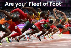 Fleet of Foot?