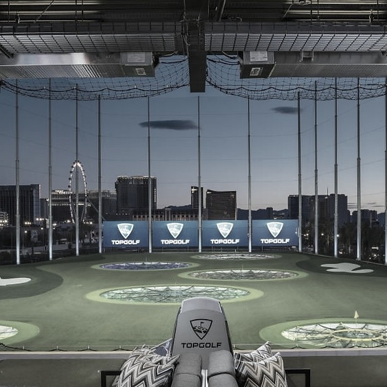Alumni Top Golf Event