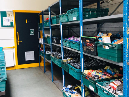 Record numbers used UK food banks in first month of lockdown