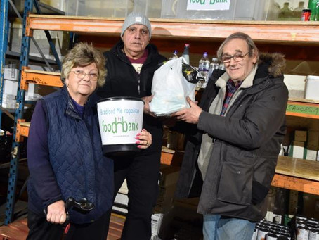 """Bradford Food Bank volunteer in tears: """"Our shelves are nearly empty"""""""
