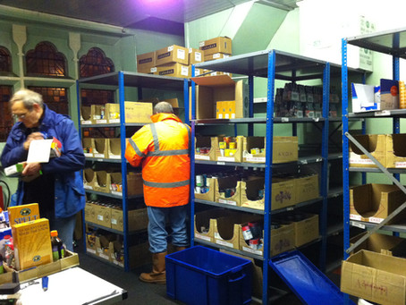 The Food Bank during challenging times