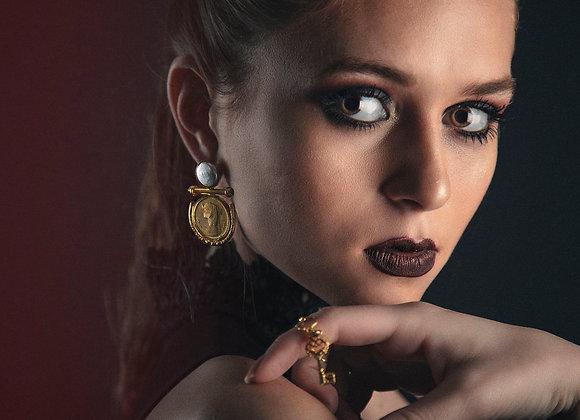 """""""La Reine"""" Earrings"""