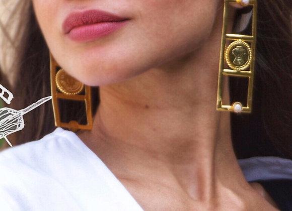 Carreaux Earrings